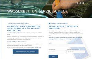 CMS Online-Shop Wasserbetten München