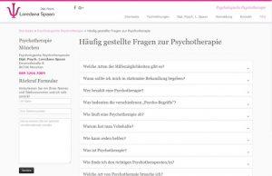 Webdesign Psychotherapie