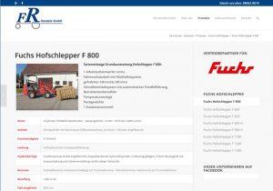 Webdesign Hofschlepper