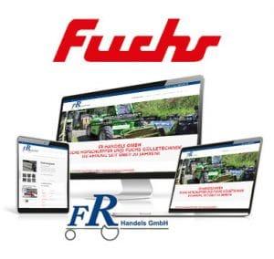 Fuchs Hofschlepper für FR Handels GmbH, Bruckmühl