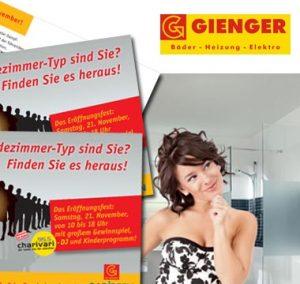 Grafik-Design Gienger