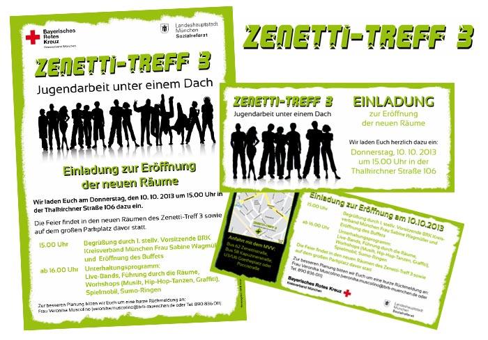 Logo Flyer Plakat Zenetti
