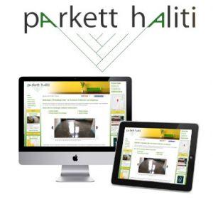 Webdesign Parkettleger