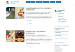 Webdesign Bausanierung