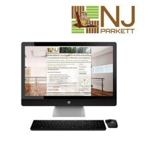 Webdesign NJ Parkett