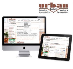 Webdesign Parkett Urban