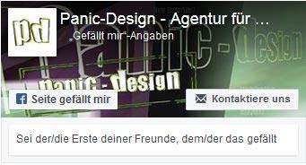 panic-design auf facebook