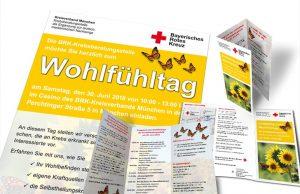 Plakat, Flyer & Broschüre BRK