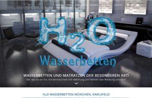 H2O Wasserbetten München