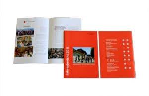 Grafik-Design, Jahresbericht