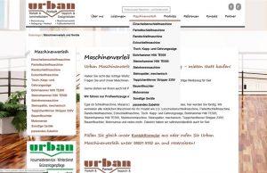 Webdesign Parkettleger Urban