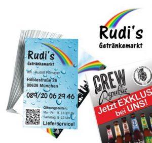 Grafik-Design Getränkemarkt