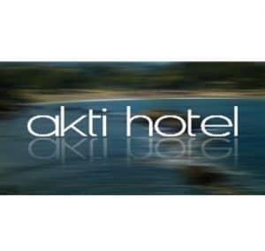 Logo Entwicklung Akti Hotel, Griechenland