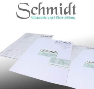Altbausanierung Schmidt Grafik-Design