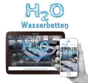 Webdesign Wasserbetten