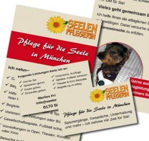 Grafik-Design für Seelenpflegerin München