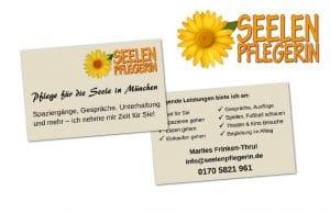 Logo, Visitenkarte & Logo Seelenpflegerin