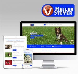 Responsive Webdesign, CMS, Tierarzt Freising